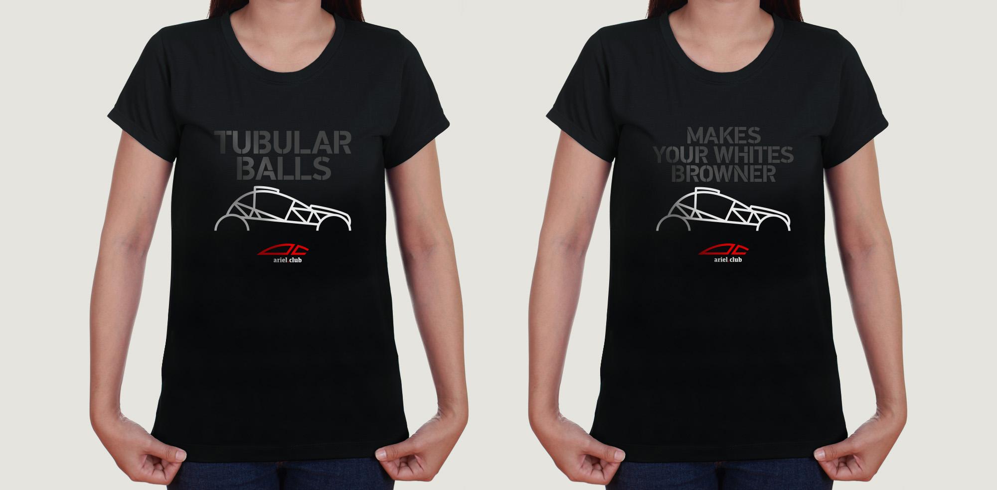 Ariel Nomad 4 t-shirts
