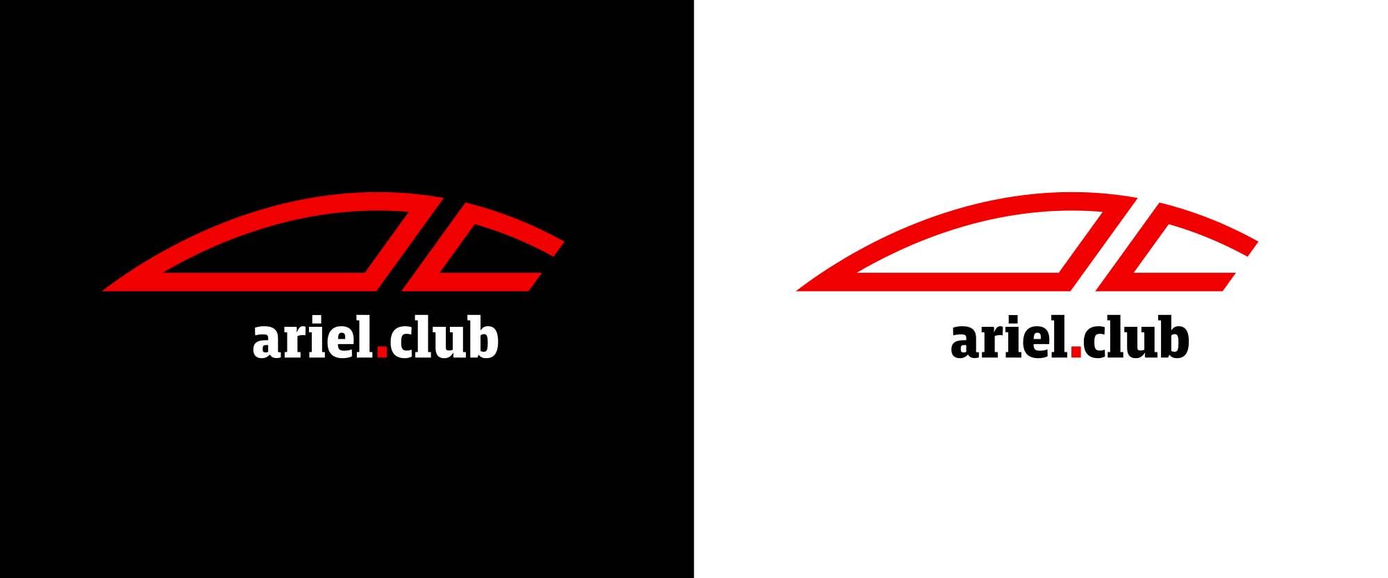 Ariel Club logo design