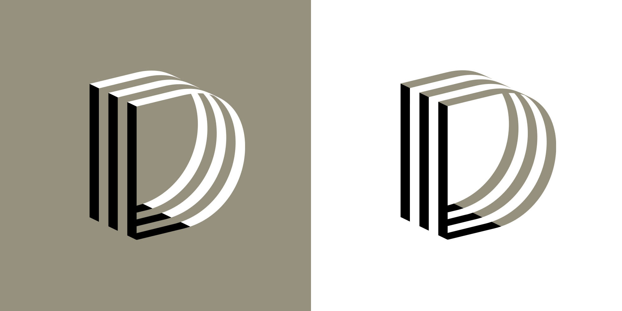 David Lancefield monogram design