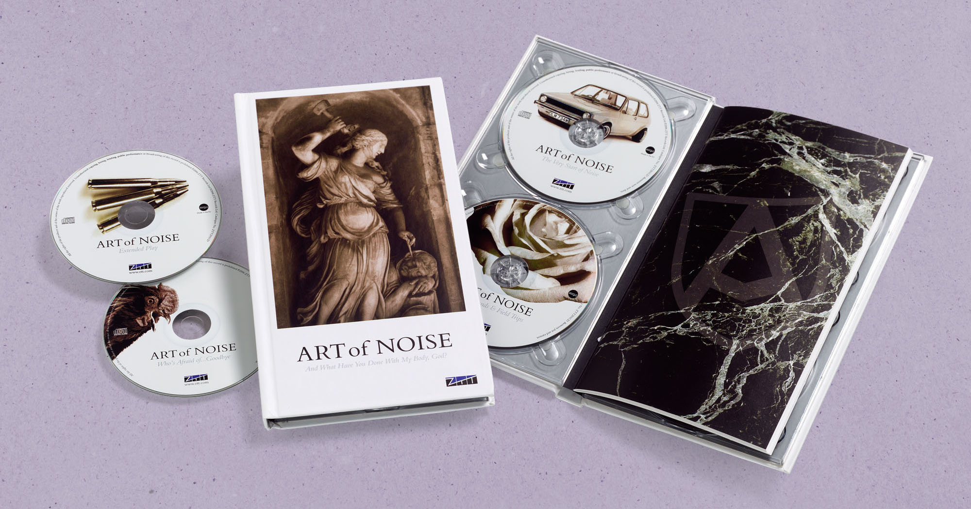Art of Noise CD design And What Have You Done With My Body, God