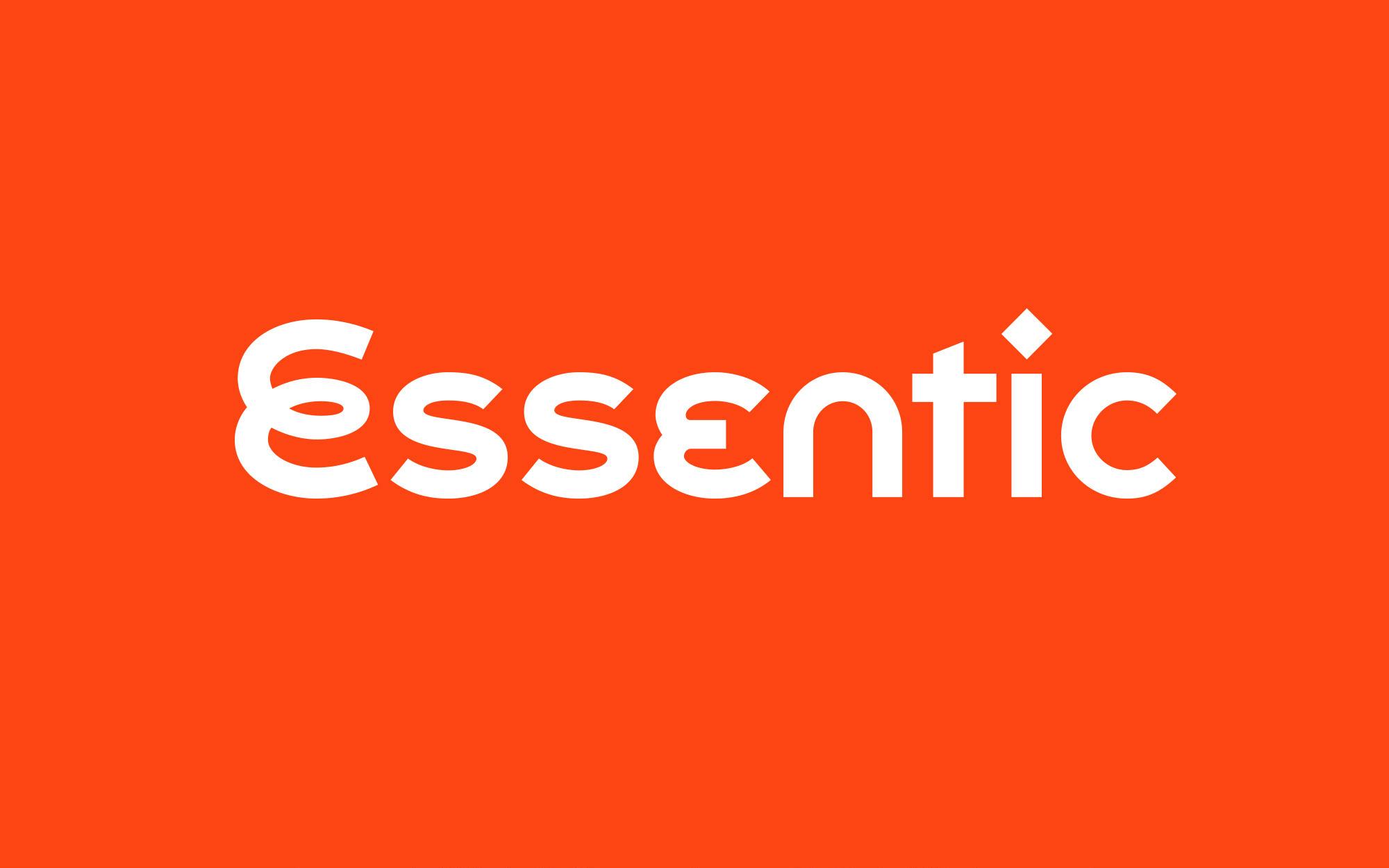 Essentic logo design