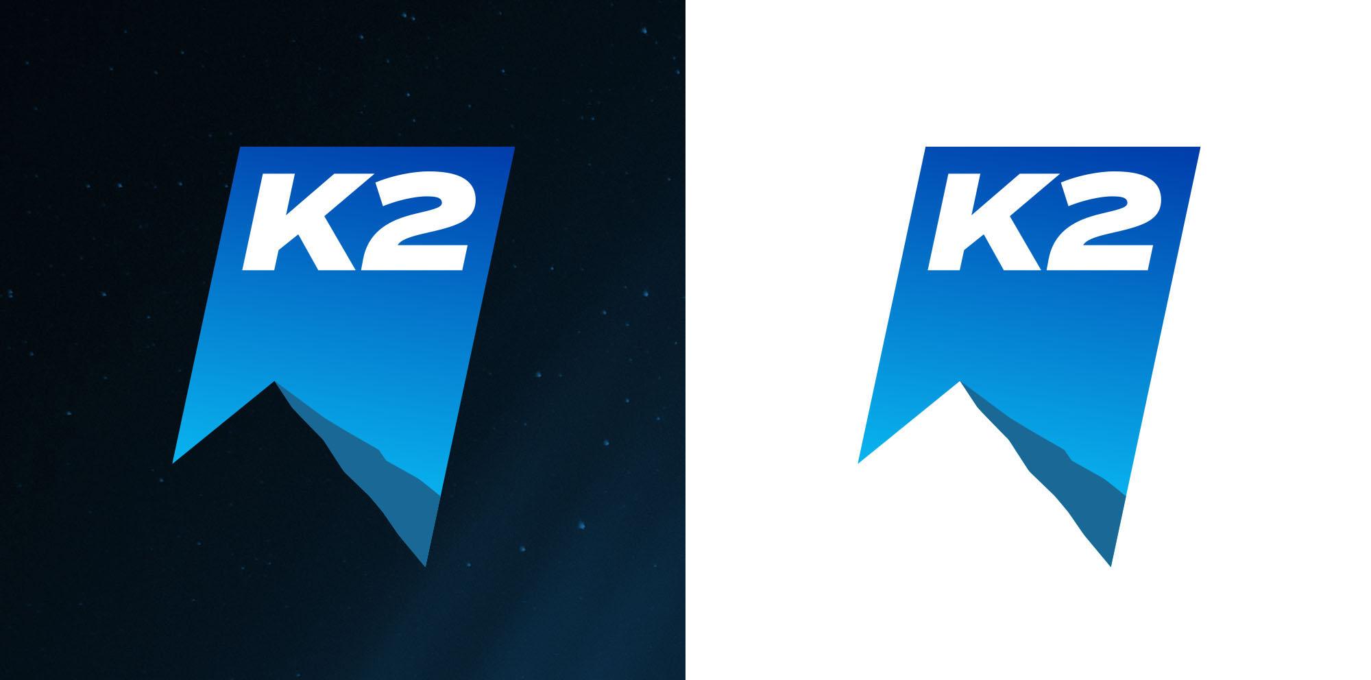 K2 logotype design