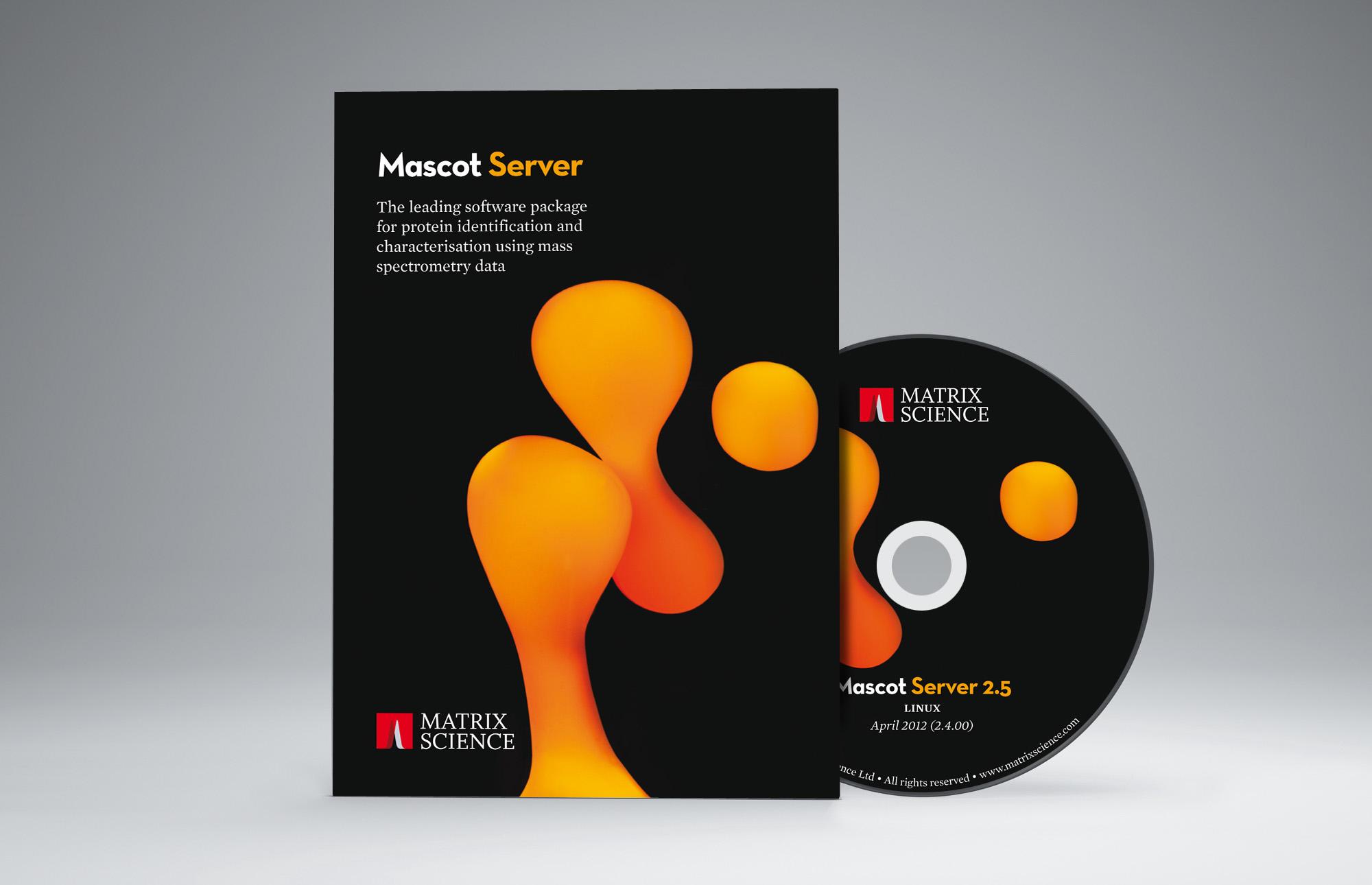 Matrix Mascot Server packaging design