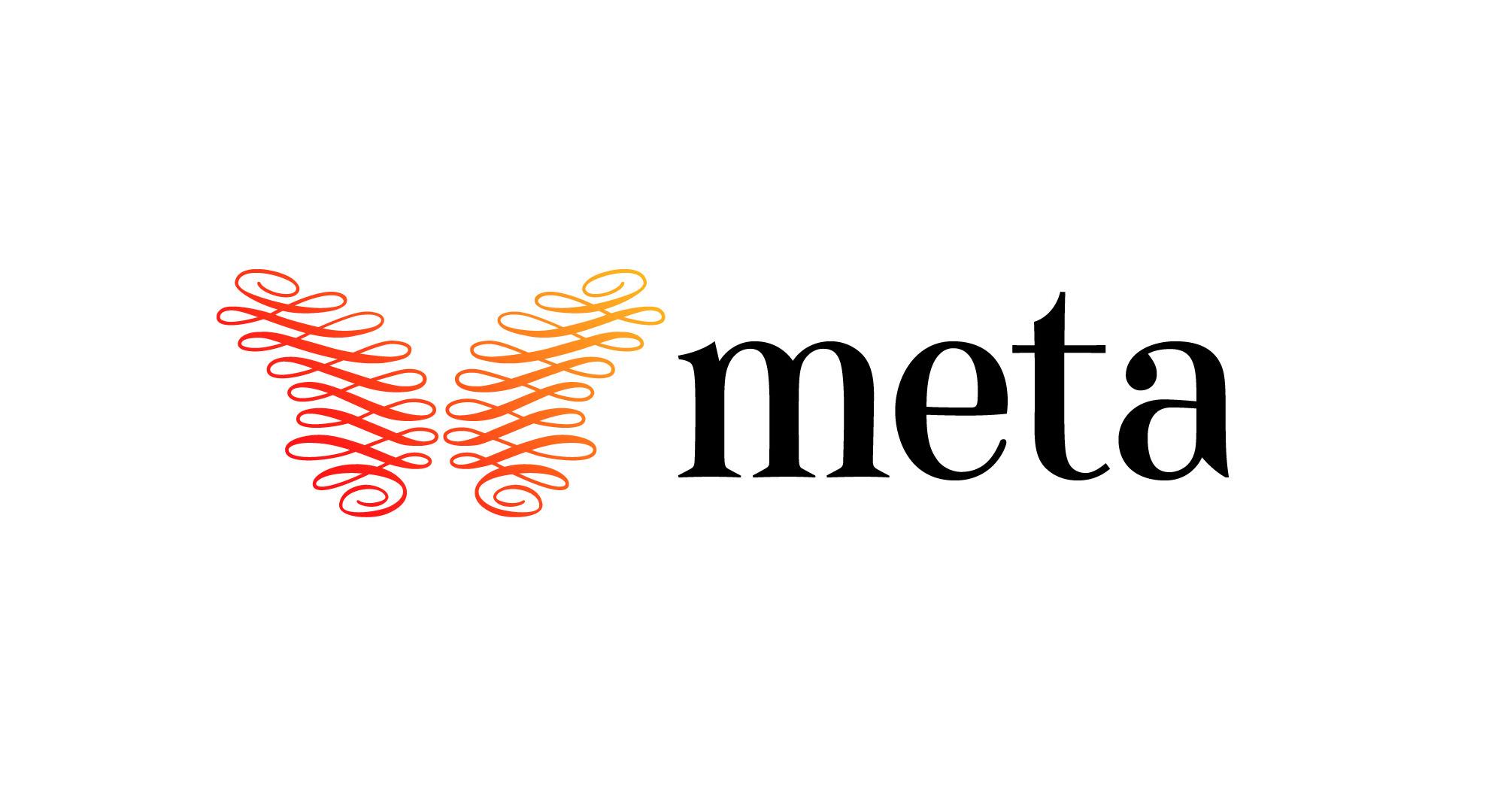 Meta logotype design