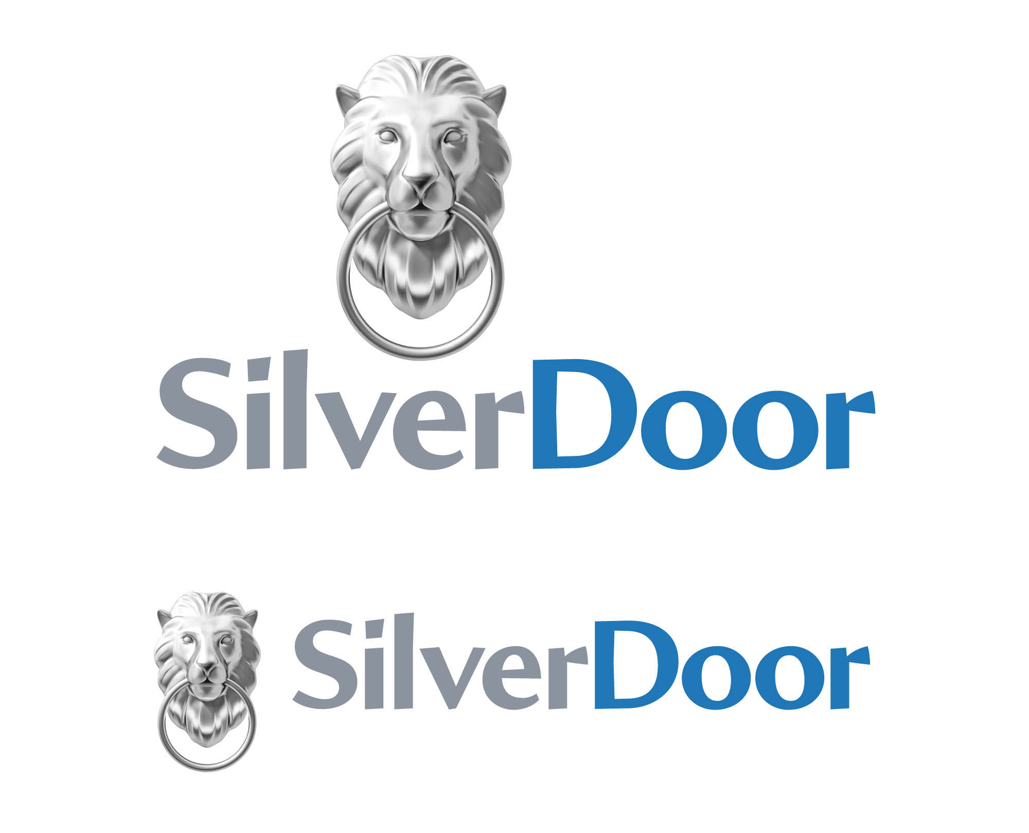 SilverDoor logo design