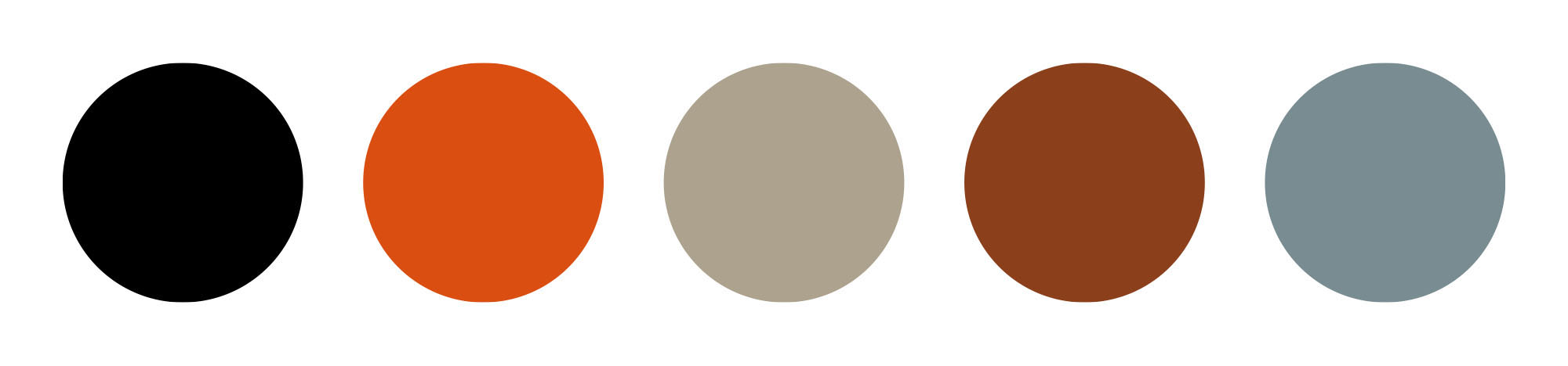 The Gosling Factor design palette